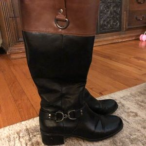 Beautiful two tone riding boots